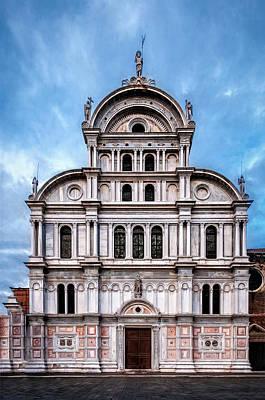 Photograph - San Zaccaria Church by Maria Coulson