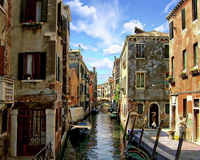 Photograph - San Zan Degola Canal by Anthony Dezenzio