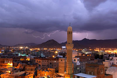 Yemen Photograph - Sana'a by Christian Heeb