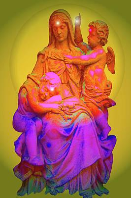 Sancta Maria No. 02 Art Print by Ramon Labusch