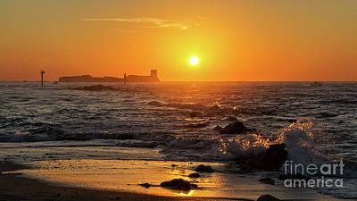 Photograph - Sancti Petri Castle At Sunset San Fernando Cadiz Spain  by Pablo Avanzini