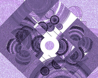 Digital Art - Sanctity Of The Disc 15 by Lynda Lehmann