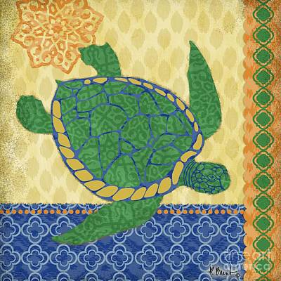 Sea Turtles Painting - Sanctuary Bay I by Paul Brent