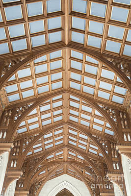 Photograph - Sanctuary Ceiling by Ann Horn