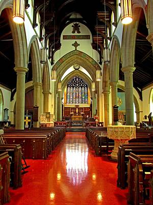Uncle Sam Posters Rights Managed Images - Sanctuary Christ Church Cathedral 2 Royalty-Free Image by Mark Sellers