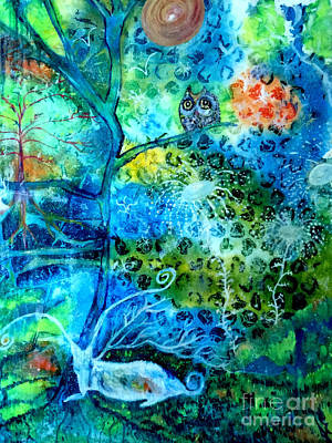 Painting - Sanctuary by Julie Engelhardt
