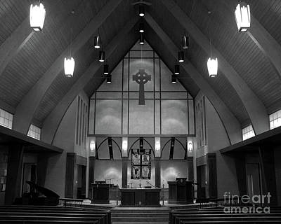 Photograph - Sanctuary Light by Ann Horn