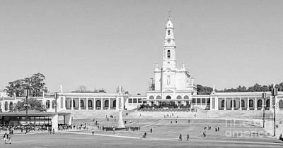 Marian Photograph - Sanctuary Of Fatima, Portugal by Jose Elias - Sofia Pereira