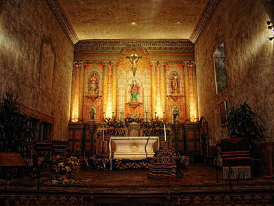 Photograph - Sanctuary Of Old Mission Santa Barbara by Glenn McCarthy Art and Photography