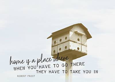 Photograph - Sanctuary Quote by JAMART Photography