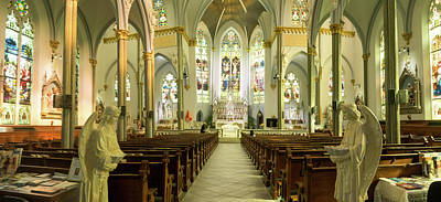 Photograph - Sanctuary Unitarian Church In Charleston by Douglas Barnett