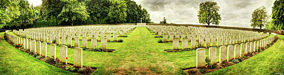 Photograph - Sanctuary Wood Cemetery - Ypres by Weston Westmoreland