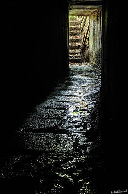 Photograph - Sanctuary Wood Trench Tunnel - Ypres by Weston Westmoreland