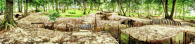Photograph - Sanctuary Wood Trenches - Ypres by Weston Westmoreland