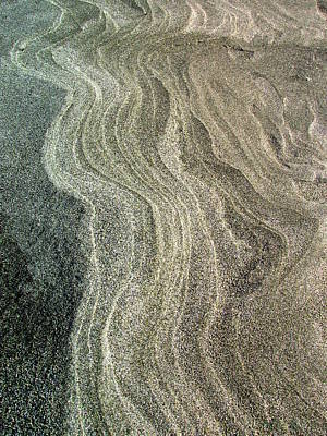 Photograph - Sand Abstract Two by Joyce Dickens