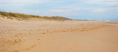 Photograph - Sand And Blue Sky by Helen Northcott