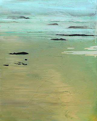 Sand And Sea Print by Ethel Vrana
