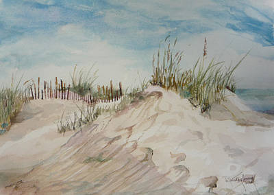 Painting - Sand And Sky by Dorothy Herron