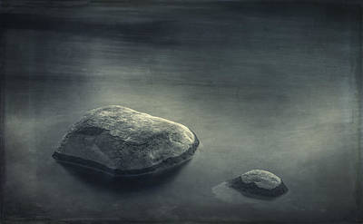 Contemplative Photograph - Sand And Water by Scott Norris