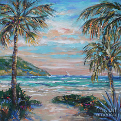 Painting - Sand Bank Bay by Linda Olsen