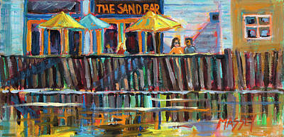 Painting - Sand Bar Sunshine by Marie Massey