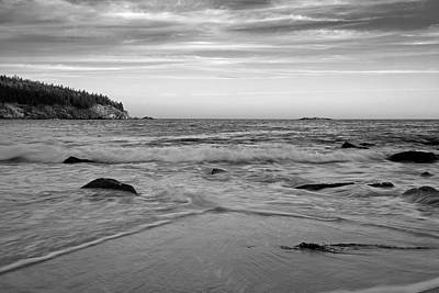 Photograph - Sand Beach - Acadia - Maine by Geoffrey Coelho