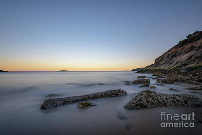 Photograph - Sand Beach At Dusk  by Michael Ver Sprill