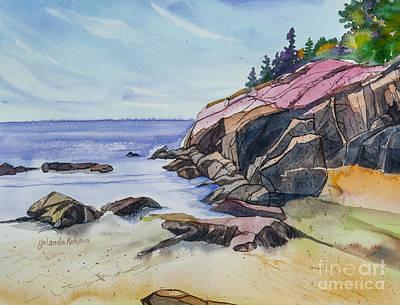 Sand Beach I Art Print