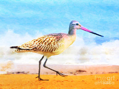 Sand Between My Toes ... Art Print