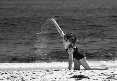Photograph - Sand Dancer by Michelle Wiarda-Constantine