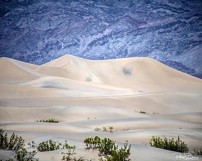 Photograph - Sand Desert Usa by Patrick Boening