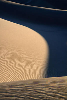 Landscape Photograph - Sand Design In Death Valley National Park by Pierre Leclerc Photography