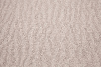 Abstract Beach Landscape Photograph - Sand Detail by Tom Gowanlock