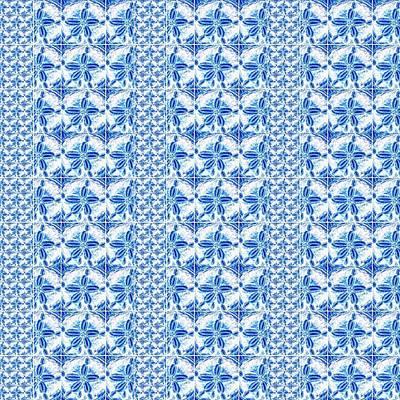 Sand Dollar Delight Pattern 2 Art Print