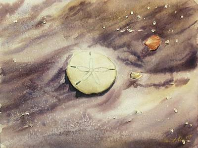Painting - Sand Dollar by Lane Owen