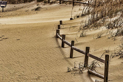 Photograph - Sand Drift by Pete Federico