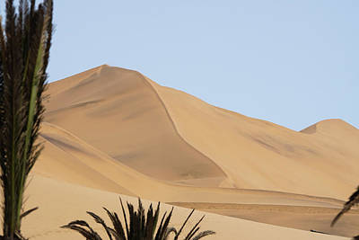 Photograph - Sand Dune At Dune 7 Namibia by Ernie Echols