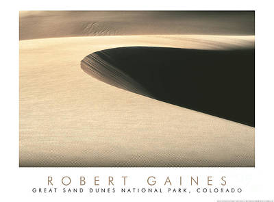 Photograph - Sand Dune Crater by Robert Gaines