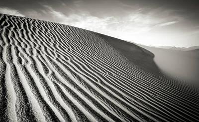 Sand Dune Art Print by Marius Sipa