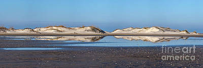 Photograph - Sand Dune Reflections On The Outer Banks by Dan Carmichael