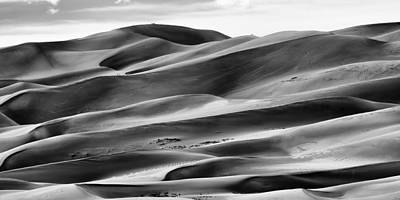 Photograph - Sand Dunes And Shadows by Monte Stevens