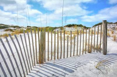 Sand Fences Photograph - Sand Dunes At Grayton Beach # 2 by Mel Steinhauer