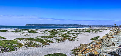 Photograph - Sand Dunes Coronado 2 by David Zanzinger
