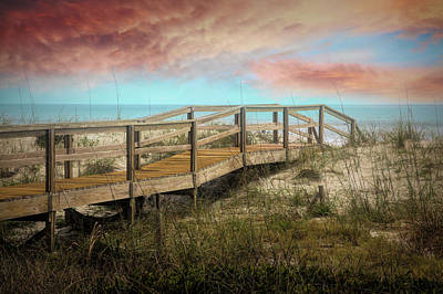Photograph - Sand Dunes In The Morning Light by Debra and Dave Vanderlaan