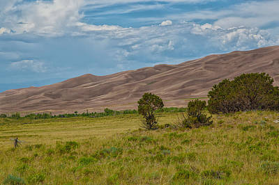 Photograph - Sand Dunes  by Jaquita Watters
