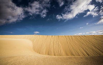 Corralejo Photograph - Sand Dunes Of Corralejo by Michael Robbins