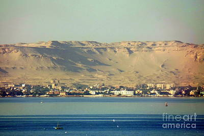 Photograph - Sand Dunes Of Suez Canal by John Potts