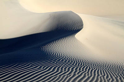 Sand Dunes Patterns In Death Valley Art Print by Pierre Leclerc Photography