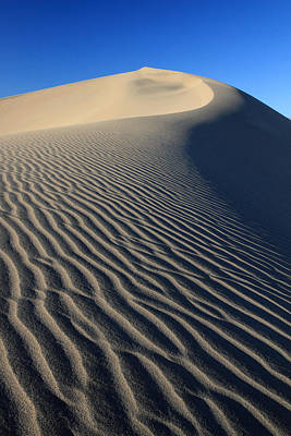 Sand Dunes Ripples Art Print by Pierre Leclerc Photography