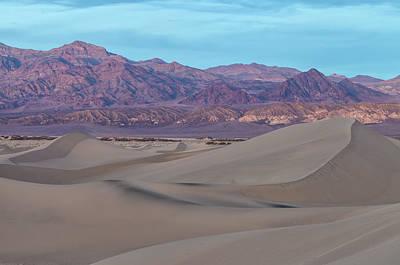 Photograph - Sand Dunes Twilight by Jonathan Nguyen